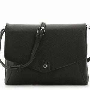 DSW Bags - DSW Kate + Alex Cuffaro Black Envelope Crossbody